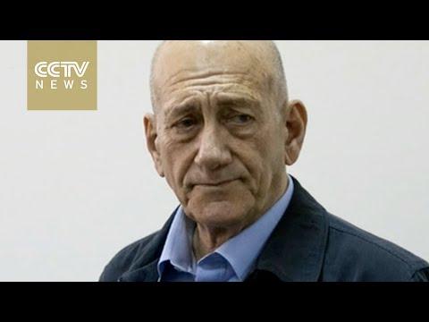 Ex-Israeli PM Ehud Olmert begins 19-month prison sentence for bribery