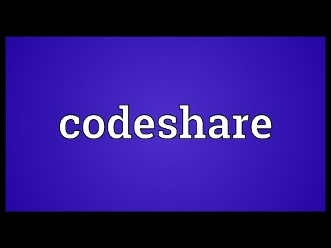 Codeshare Meaning
