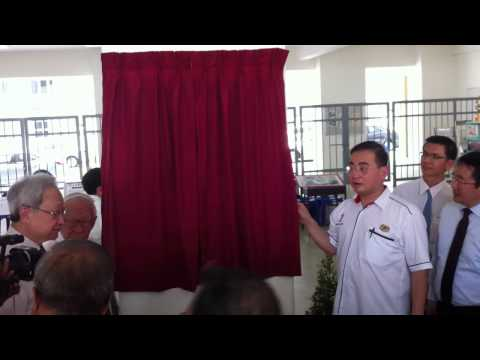Opening Ceremony - Opening the Curtain by Minister