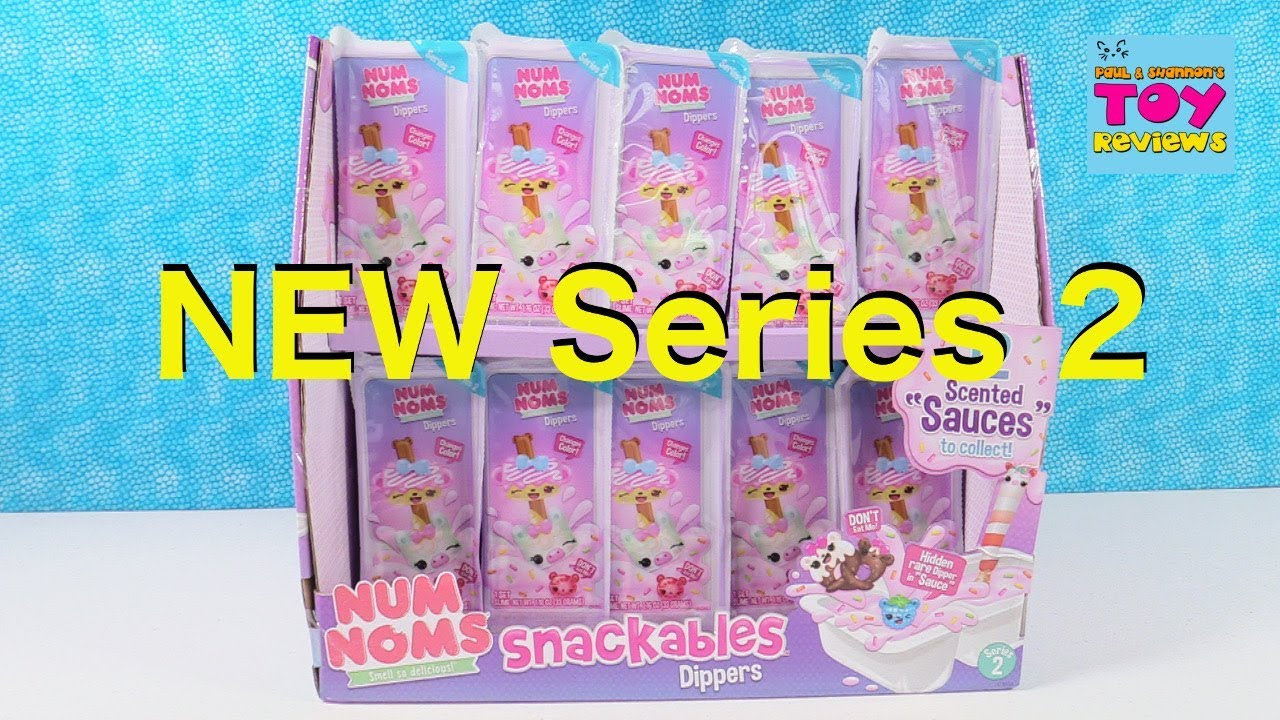 Num Noms Dippers Series 2 Snackables Scented Slime Toy