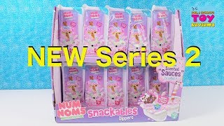 Num Noms Dippers Series 2 Snackables Scented Slime Toy Opening Review | PSToyReviews