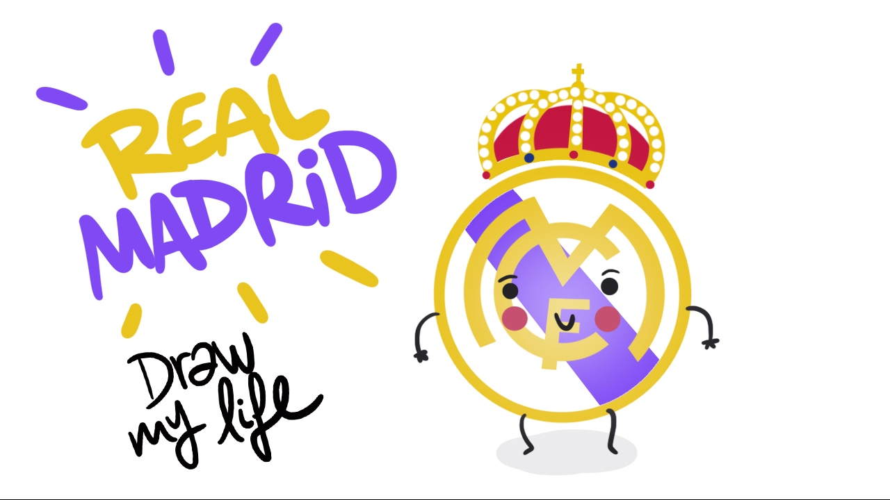how to draw real madrid symbol