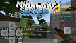 SERVER MINECRAFT PE 1.2.10 - SERVERS PARA MINECRAFT PE 1.2.10 | Minecraft pe server