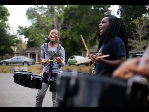 Drumline is the heartbeat of Tampa's Potter Elementary School
