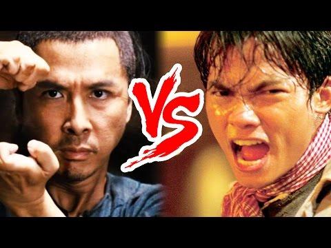 Martial Arts Legends - Tony Jaa vs Donnie Yen!