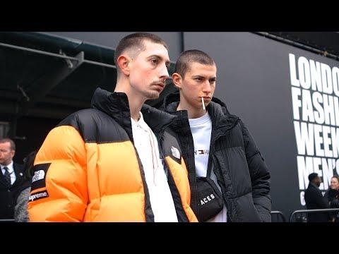 London Fashion Week Men's January 2018 - Street Style