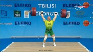 2015 European Weightlifting Championships Men