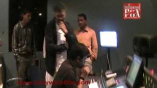 Lucky Ali (Film Soni De Nakhare) Song recording (www.bollywoodfox.com)