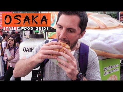 Osaka Japan Street Food Guide