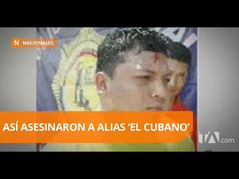 Siete reos son acusados de asesinar a alias 'El Cubano' - Teleamazonas