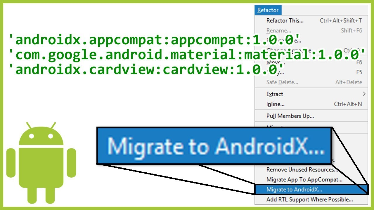 How to Migrate Your Android Studio Project to AndroidX (And Why)