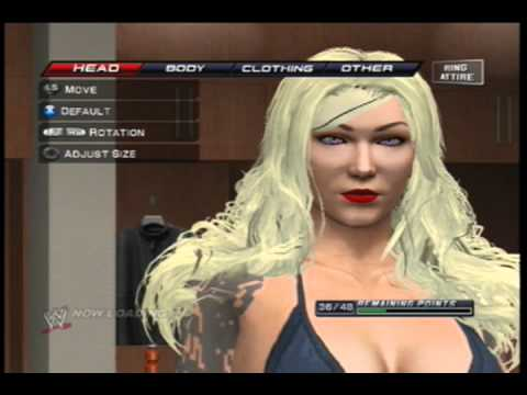 Wwe Smackdown Vs Raw 2011 Tutorial How To Make A Diva Youtube
