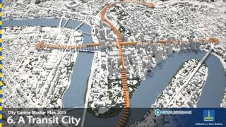 Draft Brisbane City Centre Master Plan - 10 City-making Moves