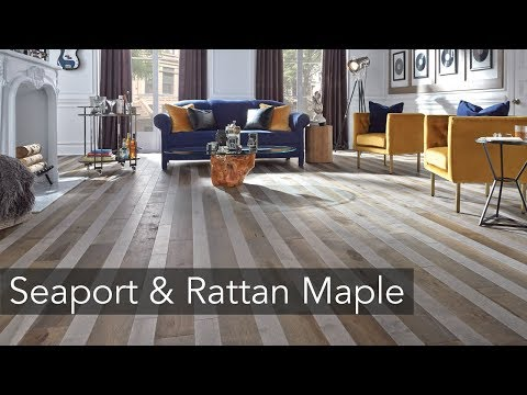 Combined! : Seaport Maple & Rattan Maple floors