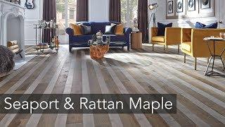 Combined! : Seaport Maple & Rattan Maple floors