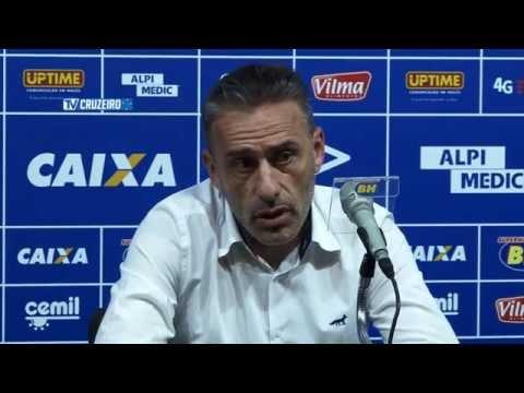 Coletiva Técnico Paulo Bento após o jogo contra o Sport