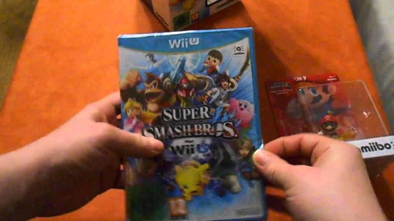 Unboxing Super Smash Bros. Wii U amiibo [ deutsch - german ]