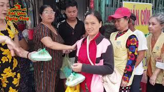 Bữa cơm Tất niên và tiền phát cho bệnh nhân Bệnh viện Chợ rẫy Sài Gòn