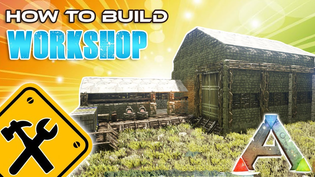 Workshop how to build ark survival youtube for How to build a beach house