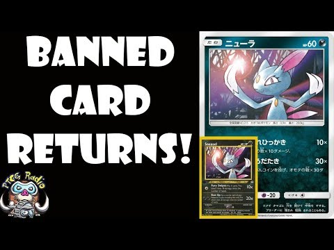 Banned Sneasel Pokemon Card is Back and Still Really Good!
