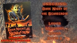 Unboxing - Dark Night of the Scarecrow - Limited Mediabook Edition - Cover A