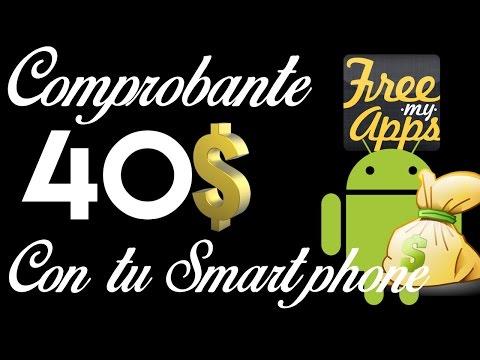 Ganar 40$ en Android con Free My Apps - Comprobante de pago - 동영상