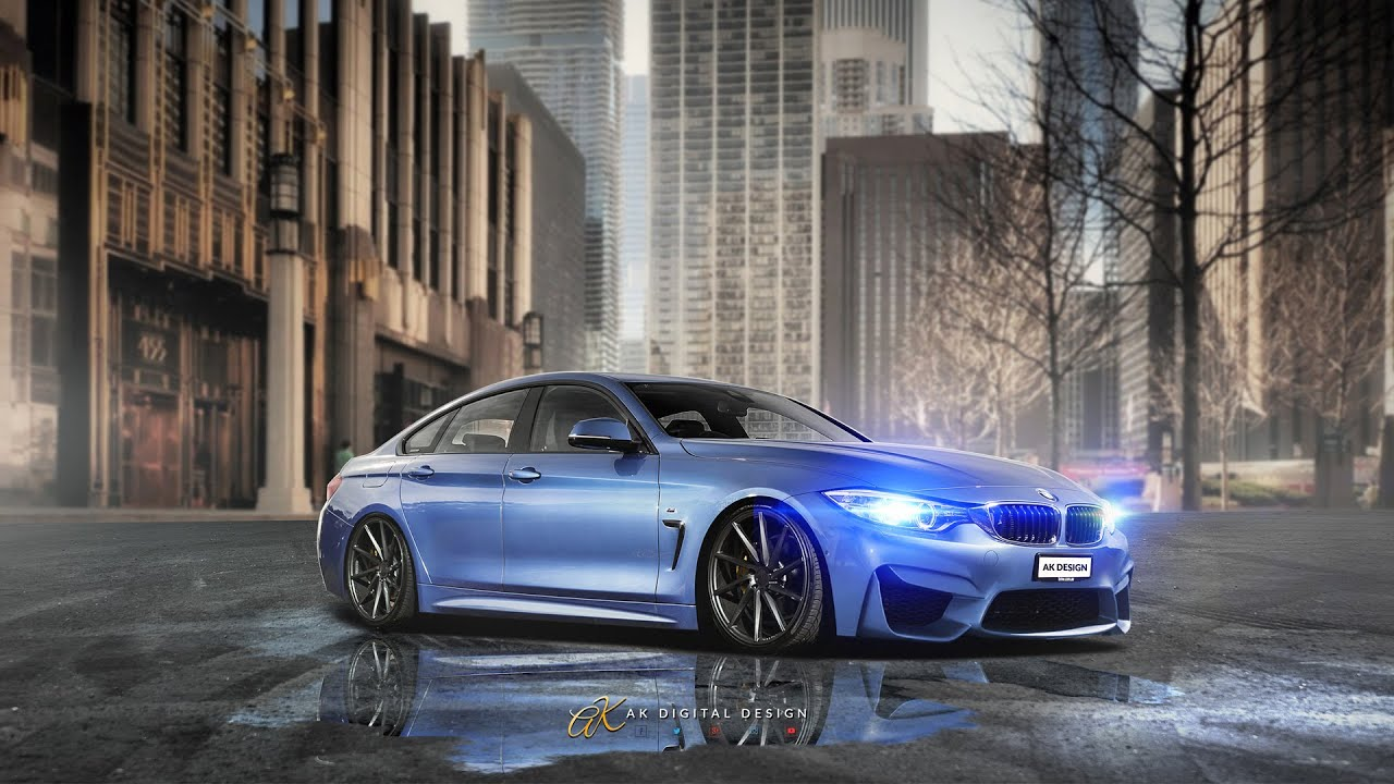 bmw m4 gran coupe modified virtual tuning youtube. Black Bedroom Furniture Sets. Home Design Ideas