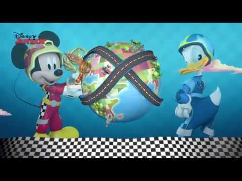 Mickey și Piloții de Curse - Videoclip interactiv: În jurul lumii!