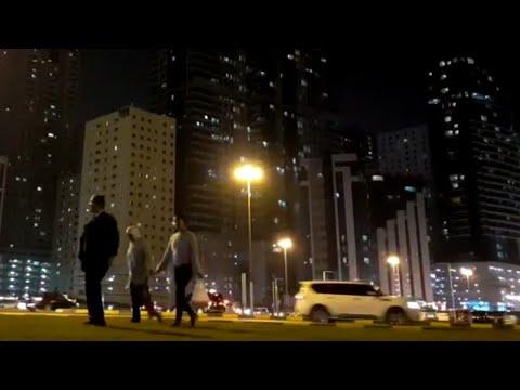 Al Taawun Roundabout   دوار التعاون - Time Laps #Altaawun #TimeLaps #Sharjah