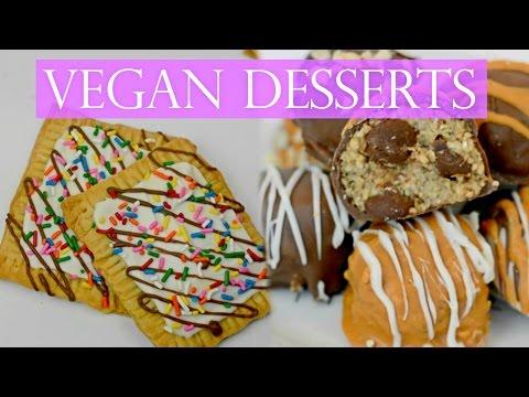 Easy Vegan Dessert Recipes!