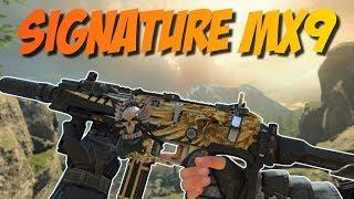MX9 Patriot Meisterhandwerk und Reaktiv Tarnung - Signature Waffen in BO4