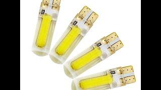 Cиликоновые cветодиодные лампочки в габариты CHEVROLET LACETTI