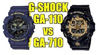 Which One To Get!? Casio G-Shock Duel! Analog-Digital GA-110 vs GA-710 - Perth WAtch #250