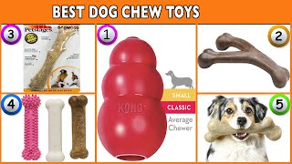Best Dog Chew Toys 2020 - Top Dog Toys Reviews