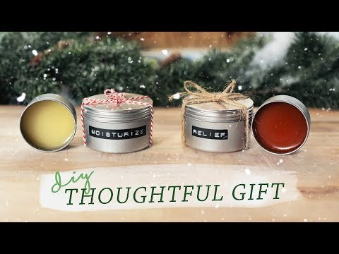 THESE DIY SALVES & BALMS MAKE PERFECT GIFTS!