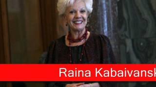 Raina Kabaivanska: Verdi - Il Trovatore, 'Tacea la notte placida'