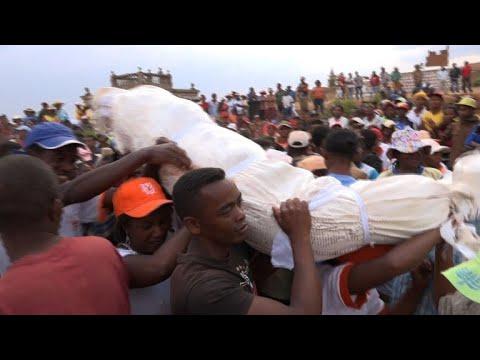 Madagascar's traditional body-turning ceremonies