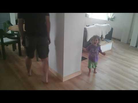 Elsie makes Uncle Brad dizzy