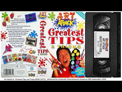 Art Attack - Greatest Tips and Tricks [VHS] (1999)