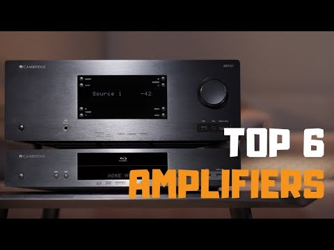 Best Amplifier In 2019 - Top 6 Amplifiers Review