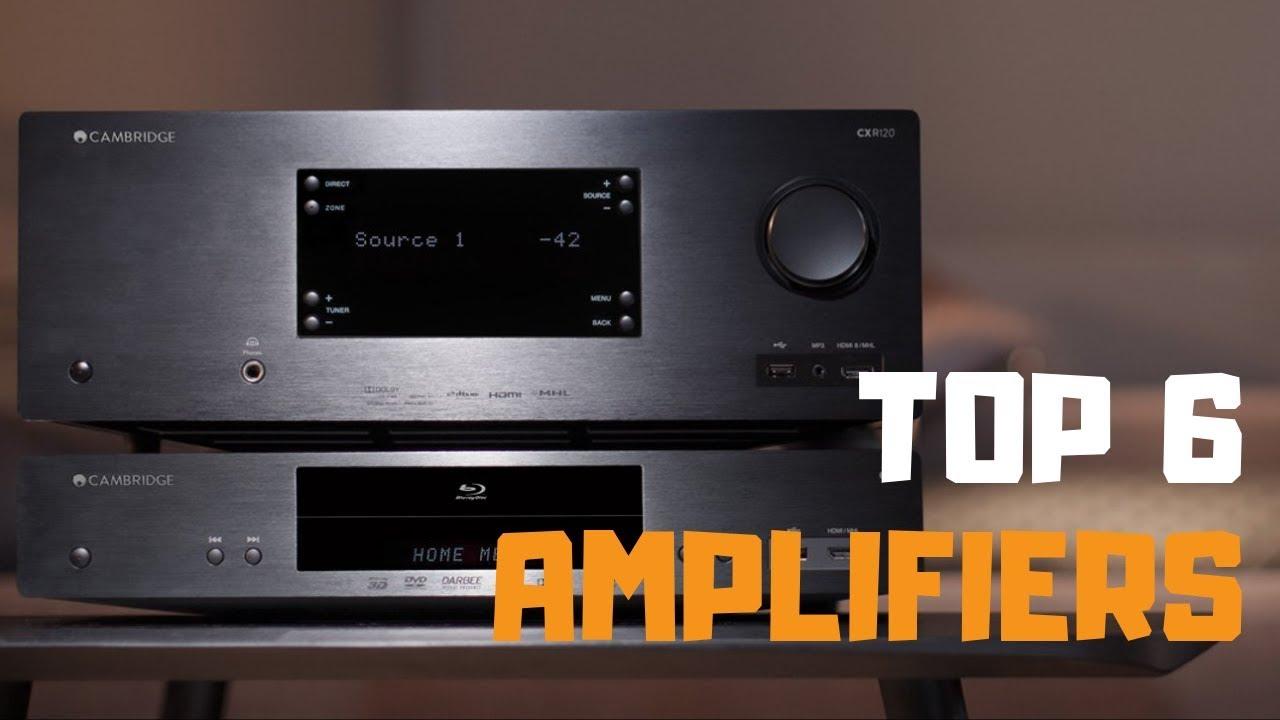 Best Amplifier in 2019 - Top 6 Amplifiers Review