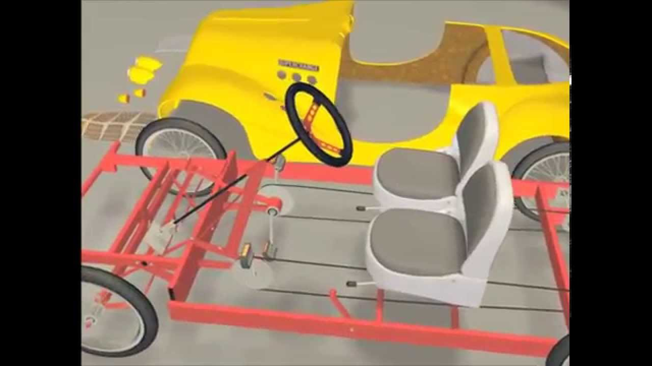 Auburn Jr Pedal Car Assembly Video Designed By Milan