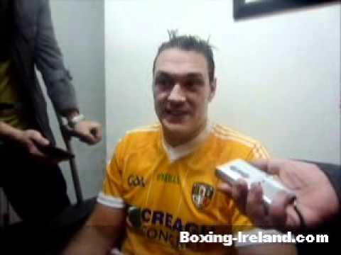 Tyson Fury on Nicolai Firtha post fight in Belfast - Boxing-