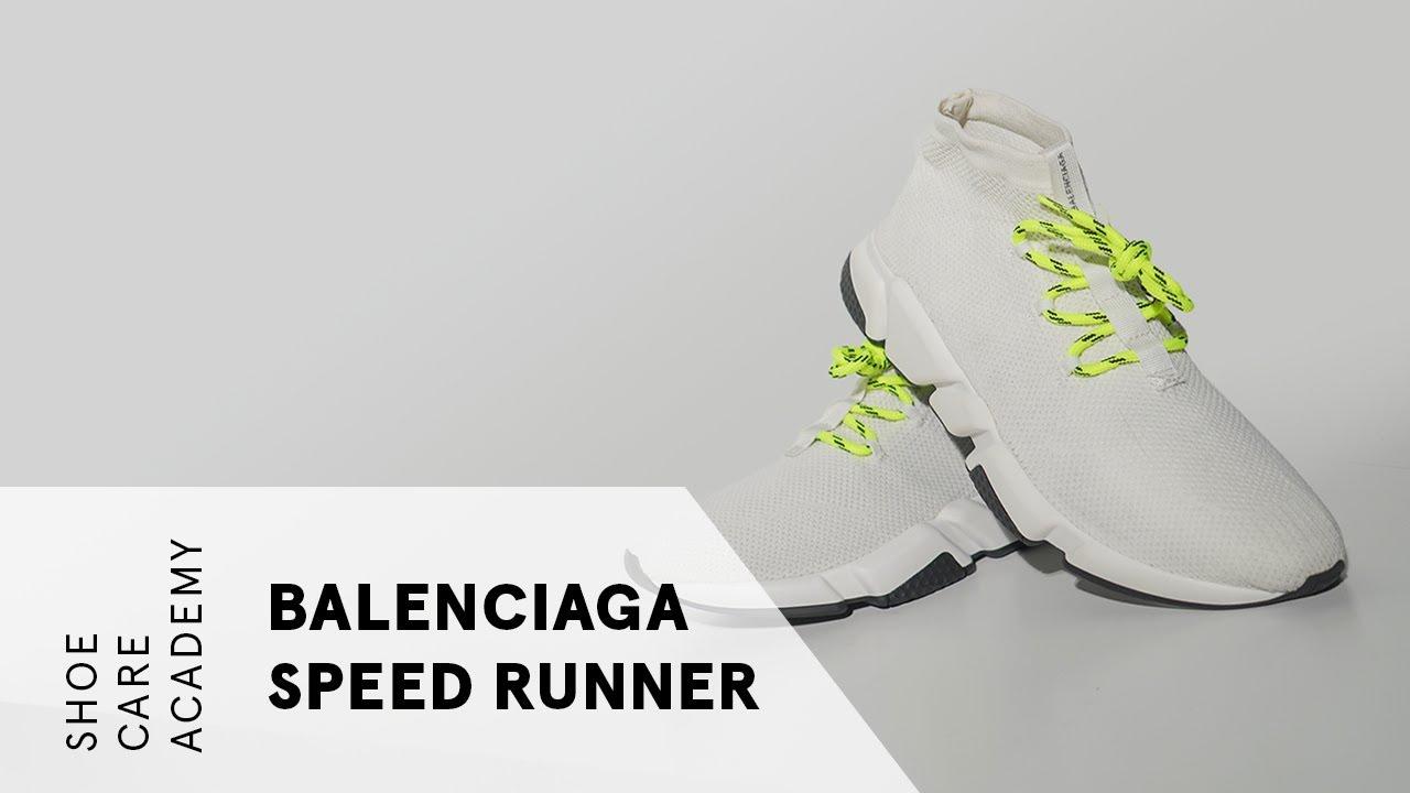 Deep Clean Balenciaga Speed Trainers
