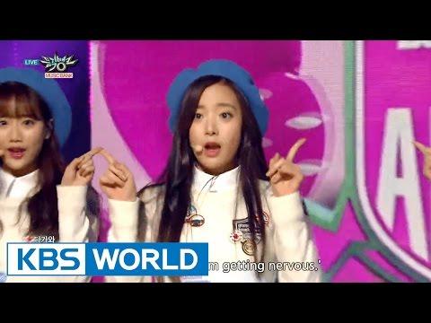 April (에이프릴) - Muah [Music Bank HOT Stage / 2015.12.11]