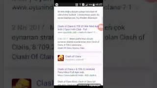 Clash of clans hile apk dayi