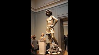 David (and Goliath) by Andrea del Verrocchio