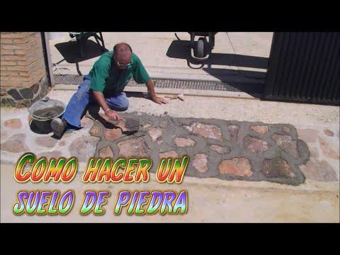 Como hacer un suelo de piedra diy tutorial de alba ileria for Como se hace un lago artificial
