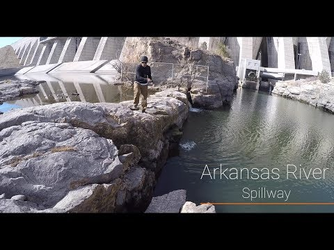 Trout Fishing- Arkansas Spillway (Tons Of Fish)