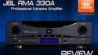 รีวิวจัดเต็ม : JBL RMA 330A (Professional Karaoke Amplifier)